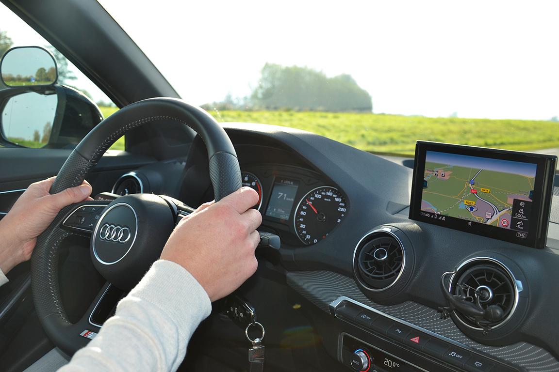 Rijlessen in een Audi in Gouda